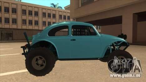 Volkswagen Baja Buggy 1963 pour GTA San Andreas sur la vue arrière gauche