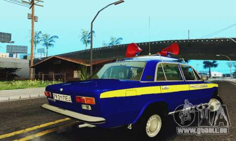 VAZ 21011 propagande pour GTA San Andreas vue de droite