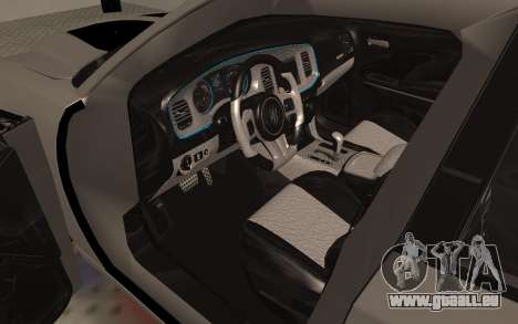Dodge Charger Super Bee pour GTA San Andreas vue arrière