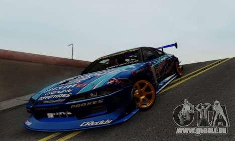 Nissan Silvia S15 Toyo Drift pour GTA San Andreas vue de côté