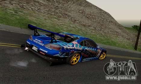 Nissan Silvia S15 Toyo Drift pour GTA San Andreas vue arrière