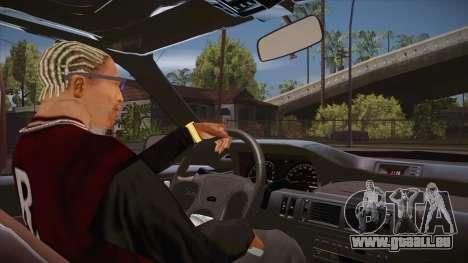 Le script CLEO : vue depuis la cabine pour GTA San Andreas deuxième écran