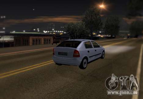 Opel Astra G pour GTA San Andreas roue