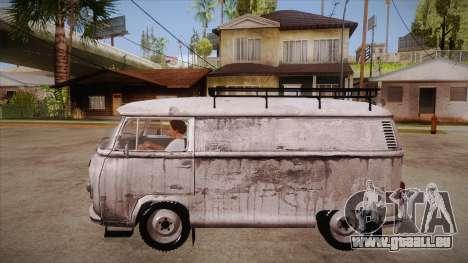 Volkswagen Transporter T2 Custom für GTA San Andreas linke Ansicht