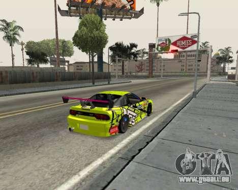 Nissan 240sx Drift pour GTA San Andreas vue de droite