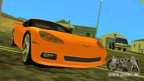Chevrolet Corvette C6 pour GTA Vice City