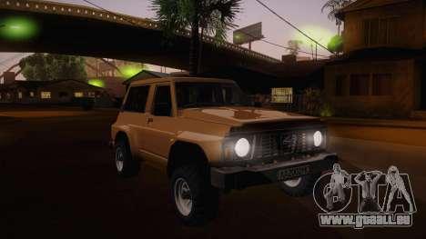 Nissan Patrol Y60 für GTA San Andreas Seitenansicht