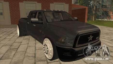 Dodge Ram Laramie Low pour GTA San Andreas laissé vue