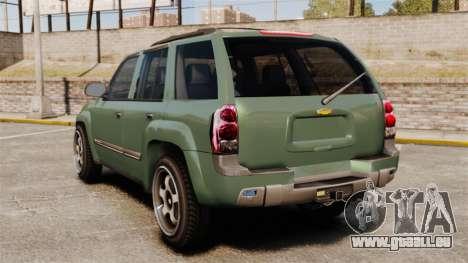 Chevrolet TrailBlazer SS 2008 für GTA 4 hinten links Ansicht