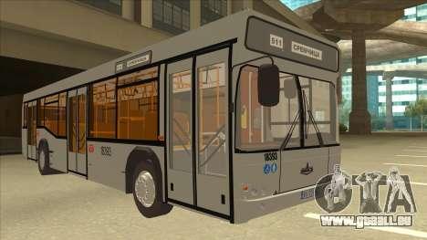 511 Sremcica Bus pour GTA San Andreas laissé vue