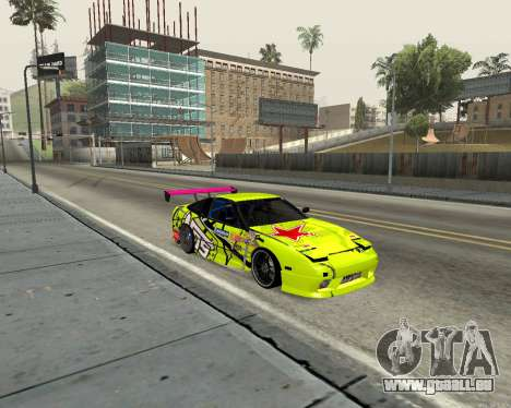 Nissan 240sx Drift pour GTA San Andreas