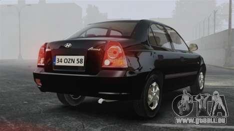 Hyundai Accent Admire für GTA 4 hinten links Ansicht