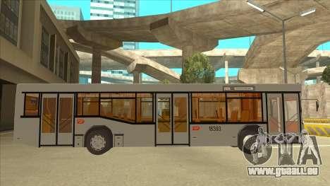 511 Sremcica Bus pour GTA San Andreas sur la vue arrière gauche