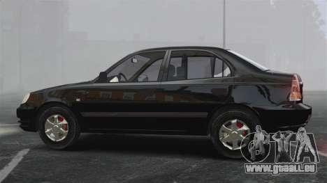 Hyundai Accent Admire für GTA 4 linke Ansicht