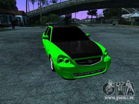 Lada Priora Carbon Lux für GTA San Andreas