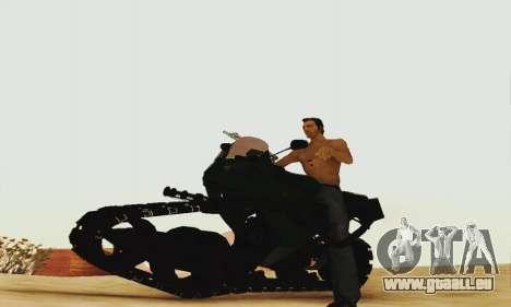Mercenaries 2 Panzercycle für GTA San Andreas linke Ansicht
