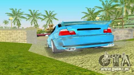 BMW M3 E46 Hamann pour une vue GTA Vice City de la droite
