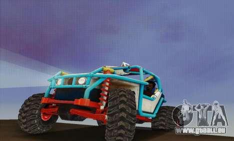 UAZ Cadet für GTA San Andreas rechten Ansicht