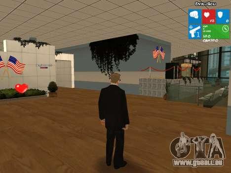 Nouvelle peau Vusi pour GTA San Andreas deuxième écran