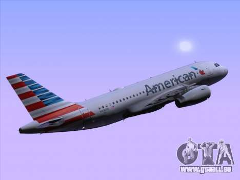 Airbus A319-112 American Airlines pour GTA San Andreas