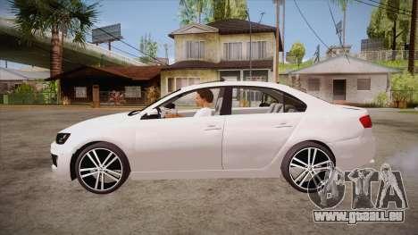 VW Jetta GLI 2013 pour GTA San Andreas laissé vue