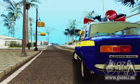 VAZ 21011 propagande pour GTA San Andreas vue intérieure