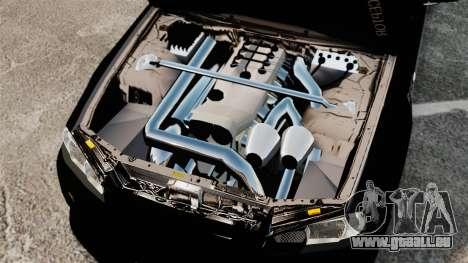 Nissan Skyline R34 pour GTA 4 est une vue de l'intérieur