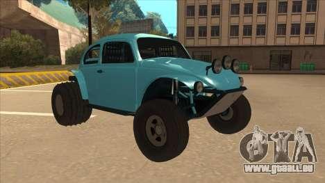 Volkswagen Baja Buggy 1963 pour GTA San Andreas laissé vue