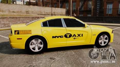 Dodge Charger 2011 Taxi pour GTA 4 est une gauche