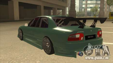 Proton Wira with s15 front end für GTA San Andreas Rückansicht