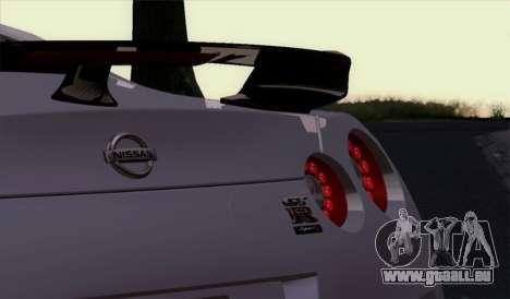 Nissan GT-R Carbon für GTA San Andreas rechten Ansicht