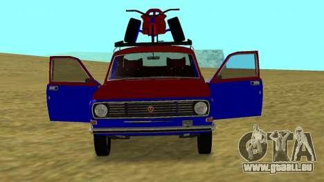 Volga gaz-24 Fun pour GTA San Andreas vue de droite