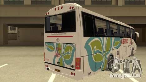 Higer KLQ6129QE - Super Five Transport S 025 für GTA San Andreas rechten Ansicht