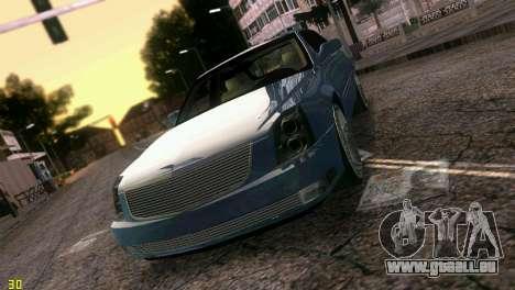 Caddy DTS DUB für GTA Vice City obere Ansicht