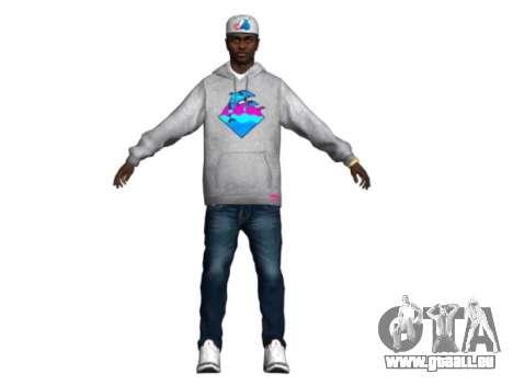 Raheem Sterling skin pour GTA San Andreas