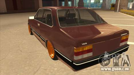 Chevrolet Chevette SLE 88 pour GTA San Andreas vue arrière