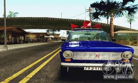 VAZ 21011 propagande pour GTA San Andreas laissé vue
