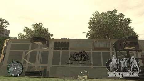 École LIAZ 5256.45-01 pour GTA 4 est une vue de l'intérieur