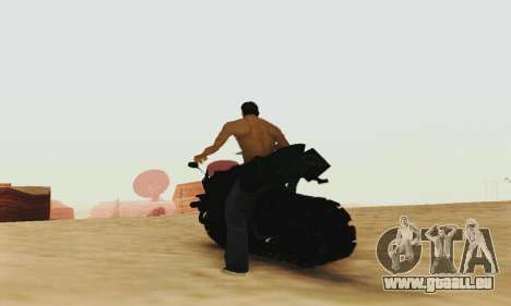Mercenaries 2 Panzercycle für GTA San Andreas Rückansicht