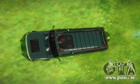 Hummer H2 Monster für GTA San Andreas Seitenansicht