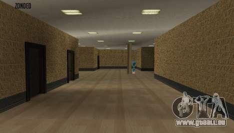 Retekstur l'intérieur de l'hôtel de ville pour GTA San Andreas deuxième écran