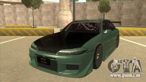 Proton Wira with s15 front end pour GTA San Andreas