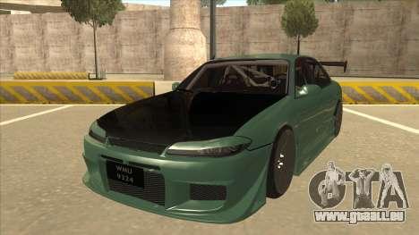 Proton Wira with s15 front end für GTA San Andreas