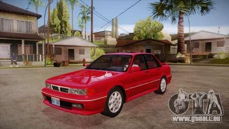 Mitsubishi Galant VR-4 (E39A) 1987 HQLM pour GTA San Andreas