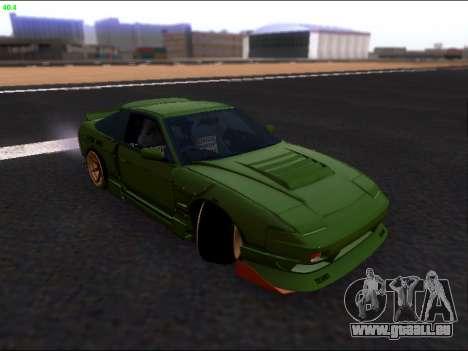 Nissan 180sx Takahiro Kiato für GTA San Andreas obere Ansicht