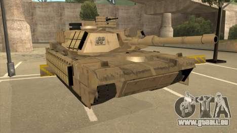 M69A2 Rhino Desierto für GTA San Andreas linke Ansicht