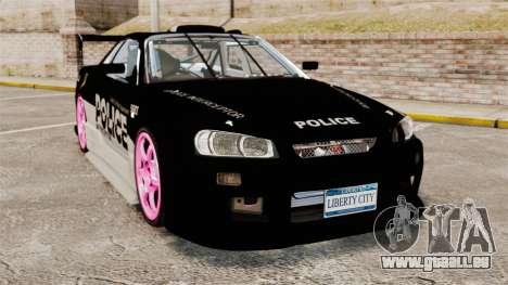 Nissan Skyline R34 pour GTA 4