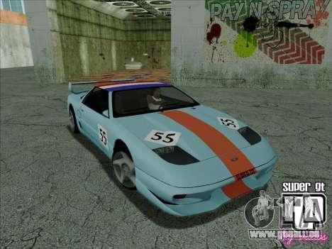 Super GT HD für GTA San Andreas Innen