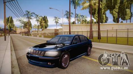 Geely xiongmao haohaoqing pour GTA San Andreas vue intérieure