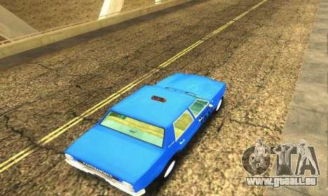 Fasthammer Taxi pour GTA San Andreas vue de côté
